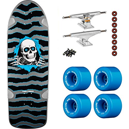 Powell-Peralta Skateboard Complete OG Ripper Silver Independent/Rat-Bones