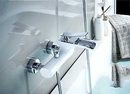 ZYHYCobre ducha bañera grifo grifo ducha package muro válvula de ...
