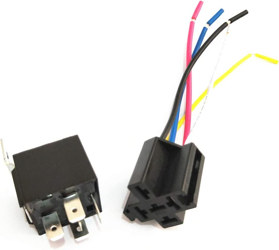24V Optional Volt Parts BIlinli Autorelais mit Sockel GPS Tracker Diebstahlsicherung Auto DC12V