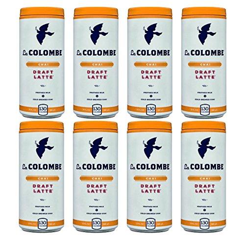 La Colombe Coffee Roasters Draft Latte Chai (Pack of 8)