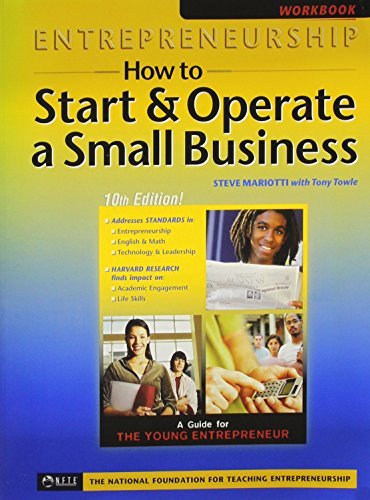 Entrepeneurship: How to Start & Operate a Small Business, Workbook
