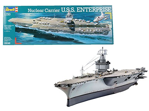 Navy Aircraft Carrier - Revell U.S.S. Enterprise
