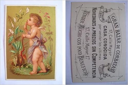 Antigua Tarjeta Publicidad - Old Advertising Card : Gran Bazar de ...