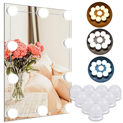 Cosy Life Vanity Mirror Lights Kit,Hollywood Style LED Makeup Lights with 10 -