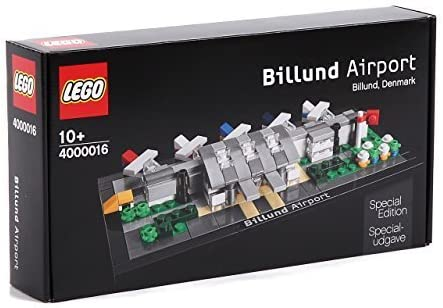 LEGO Special Edition Billund Denmark Airport 4000016 Set Exclusive Collectible