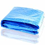 40` X 50` Blue Economy All Purpose Tarp W/grommets