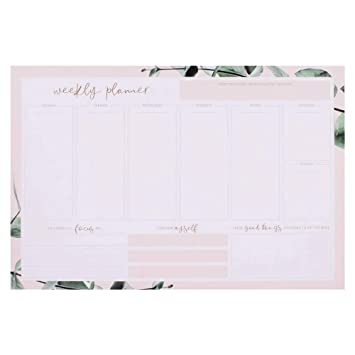 80 Seiten rosa JO /& JUDY Mindfulness Planner 12 Wochen 16,5 x 24 cm Mint