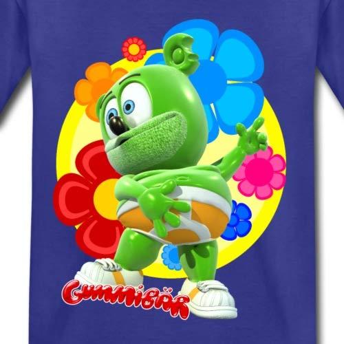 Spreadshirt Gummib/är Flowers Gummy Bear Toddler Premium T-Shirt