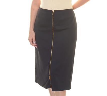 Calvin Klein – Falda de Buceo con Centro con Cremallera de la ...