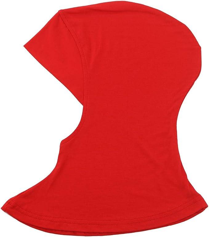 islamisches Untertuch Einheitsgr/ö/ße 12 Muslim Full Cover Turban Haarausfall Hijab Cap Damen hell einfarbig Vaeiner Kopfschal Modal dehnbar Wickeltuch Kopftuch