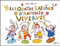 Book's Cover ofLes 4 saisons d'Antonio Vivlavi