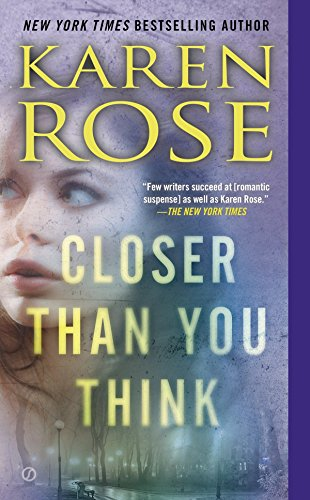 Audiobook cover from Closer Than You Think (The Cincinnati Series) by Karen Rose