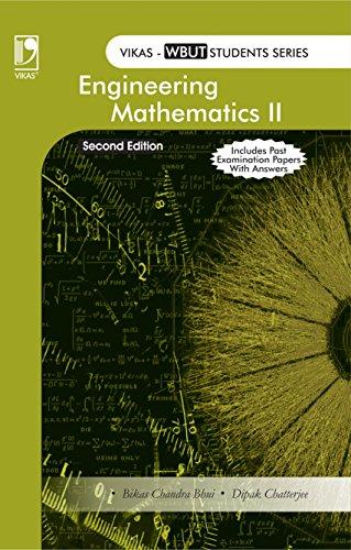 Engineering Mathematics II (WBUT), 2Nd Edition