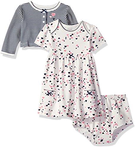 Little Me Baby Girls Knit Dress Set