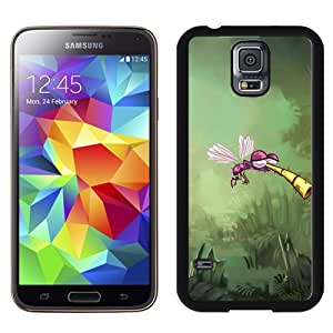 New Beautiful Custom Designed Cover Case For Samsung Galaxy S5 I9600 G900a G900v G900p G900t G900w With Rayman Mosquito Phone Case