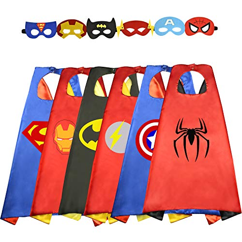 Roky Toys for 3-10 Year Old Girls, Fun Cool Cartoon Superhero Capes Costumes for Camouflage Games, Party time, Kids' Group Games Best Toys Gifts for boy Girl