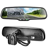 "Master Tailgaters OEM Rear View Mirror with 4.3"" Auto Adjusting Brightness LCD - Rearview Universal Fit"