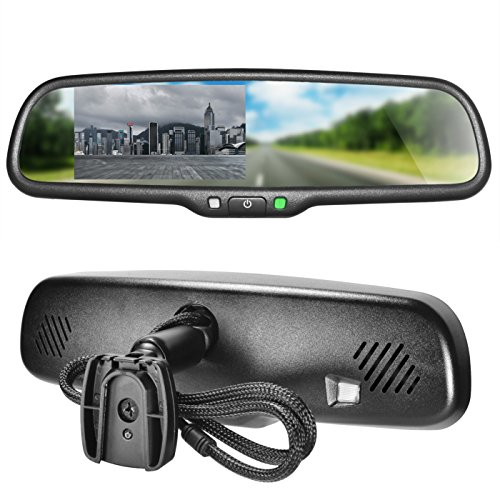 Master Video Monitor - Master Tailgaters OEM Rear View Mirror with 4.3