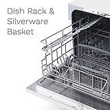 hOmeLabs Compact Dishwasher