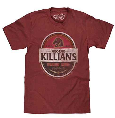 George Killian's Beer T-Shirt - Killians Irish Red Premium Lager Shirt (Small)