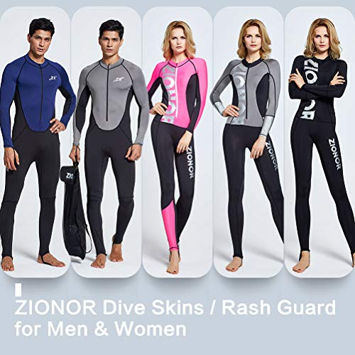 15729698da8 Zionor Full Body Sport Rash Guard Dive Skin Suit for Swimming Snorkeling  Diving Surfing with UV