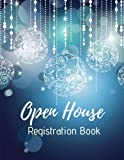 img - for Open House Registration Book: Winter Holidays & Christmas - Real Estate Agent Guest & Visitors Signatures Sign In Registry - Show Homes and Interior Designers book / textbook / text book