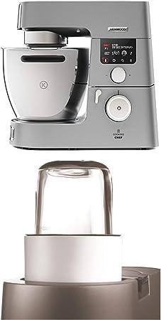 Kenwood Cooking Chef KCC9060S - Robot de Cocina por Inducción (20 - 180º), 1500W, Pantalla LCD, Bol 6,7 l + Kenwood AT320 - Accesorio ,olinillo de cristal compatible con Robots de Cocina Kenwood: Amazon.es: Hogar