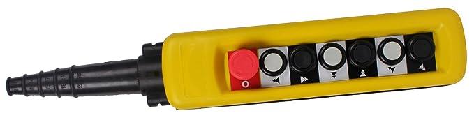 Pendant control switches crane pendant controller xac a6913 pendant control switches crane pendant controller xac a6913 emergency stop 2speed cob series aloadofball Gallery