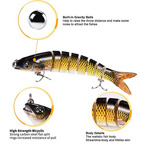 Yagool Fishing Lure for Trout Set