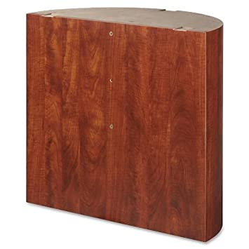 Lorell LLR69943 Modular Conference Table Top 30.5 Height X 30.5 Width X 32 Length Cherry