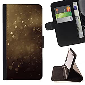 For Samsung Galaxy Note 3 III Case , Verano polvo Manchas Marrón Naturaleza- la tarjeta de Crédito Slots PU Funda de cuero Monedero caso cubierta de piel