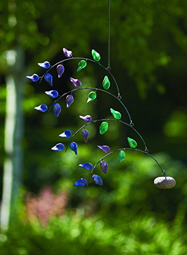 Happy Gardens Terra Cotta Multi Colored Leaf Mobile - BACK IN STOCK AUGUST 2018 by Happy Gardens