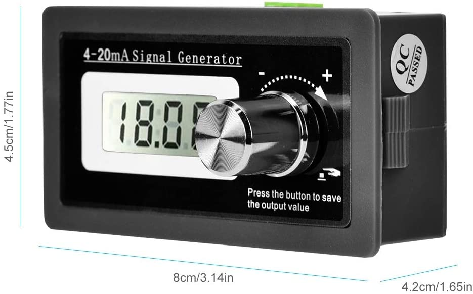 Effective and Practical High Accuracy 4-20mA Current Loop Signal Generator Signal Generator