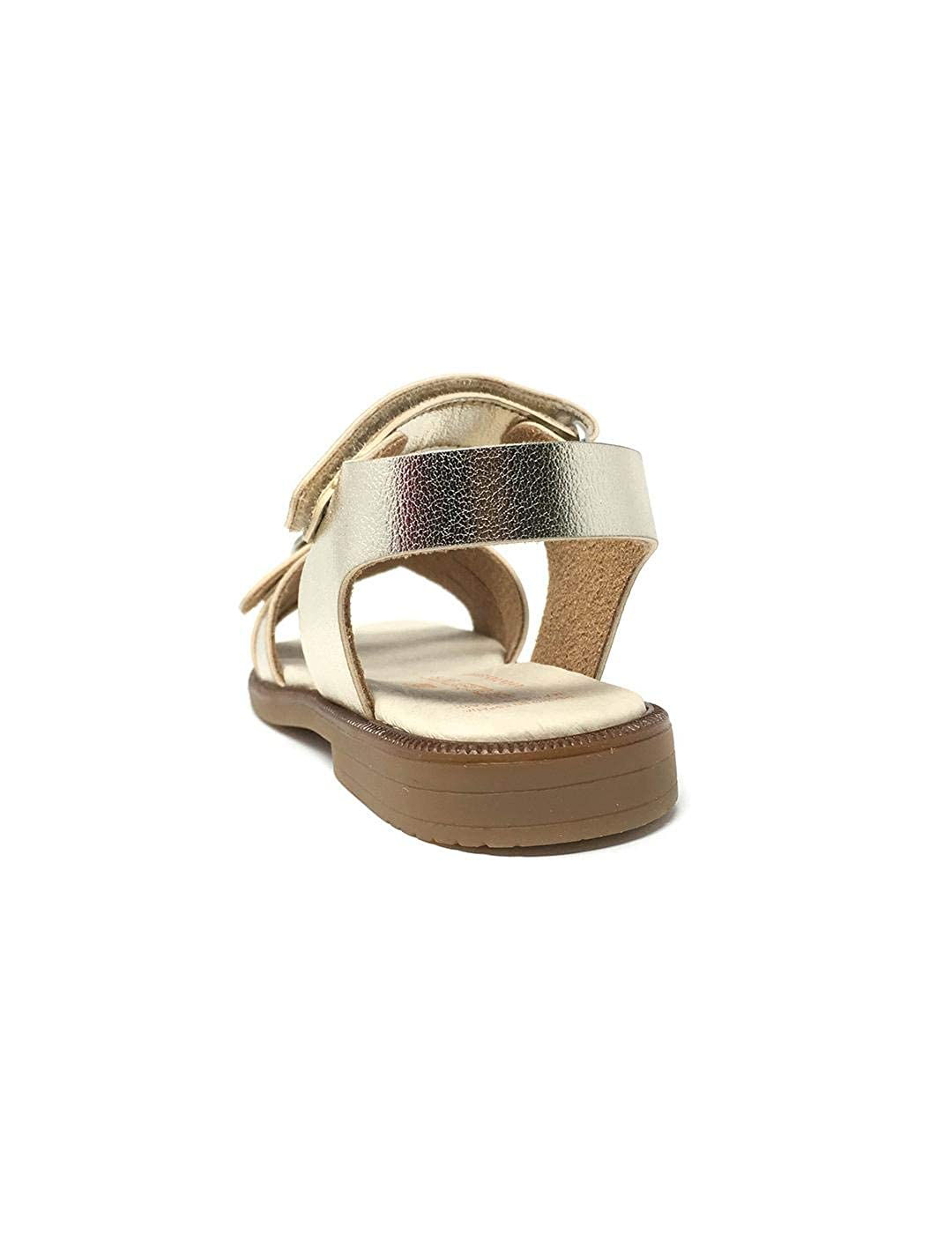 Sandalia Metal Oro
