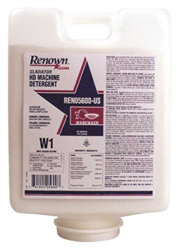 RENOWN GIDDS2-2489904 Heavy-Duty Detergent RC Non-Chlorinated Gladiator Machine (4 Per Case) by Renown