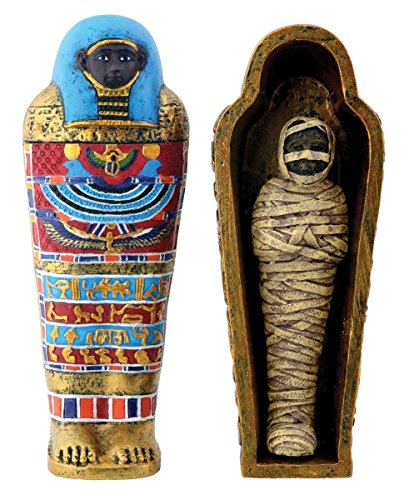 4-Inch Saqqara Mummy Collectible Figurine, Egypt
