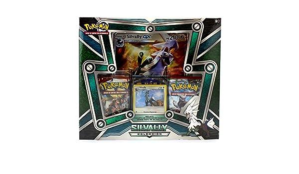 Pokemon JCC - Caja Colección Silvally, Español: Amazon.es: Juguetes y juegos