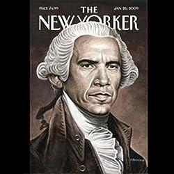 The New Yorker, January 26th, 2009 (Atul Gawande, Noah Baumbach, Aravind Adiga)