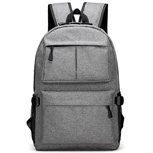 Outdoor viaggiare zaino casuale, sacchetto di spalla di modo impermeabile, borsa del computer dello studente, sacchetto dell'allievo, grande capacità zaino da viaggio