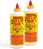 Zap-A-Roach Boric Acid Roach and Ant Killer - Odorless and Non-Staining - 1 LB. - 2...