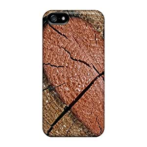 New Style MeSusges Heart Engraved Log Premium Tpu Cover Case For Iphone 5/5s
