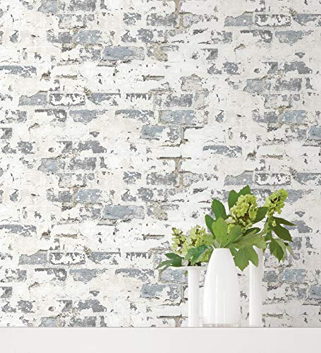 Antique Style Decorative Faux Brick Wallpaper ()