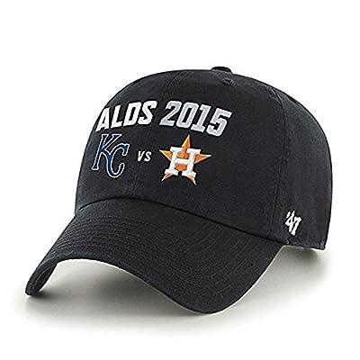 Kansas City Royals Houston Astros 47 Brand 2015 Postseason ALDS Adjust Hat Cap
