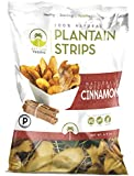 Artisan Tropic Plantain Strips, Naturally Sweet with Cinnamon, Cooked in Sustainable Palm Oil, Paleo Certified, 4.5 Oz, (2 Pack)