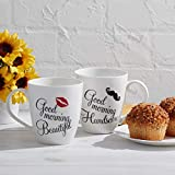Pfaltzgraff Good Morning His & Hers Mugs Set of 2