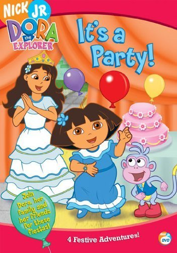 DORA THE EXPLORER-ITS A PARTY (DVD) (FF) by PARAMOUNT - UNI DIST CORP from PARAMOUNT - UNI DIST CORP