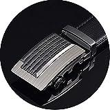 Belt Male Genuine Leather Strap Belts For Men Automatic Buckle Belts,NE306,125cm 37to40 Inch