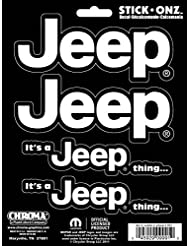 Chroma 009991 Jeep It\'s a Jeep Thing Stick Onz Decal