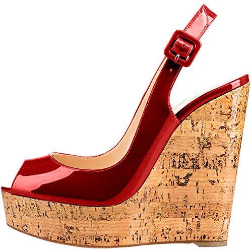 Donyyyy Boca de Pescado pendiente y zapatos de mujer Thirty-five