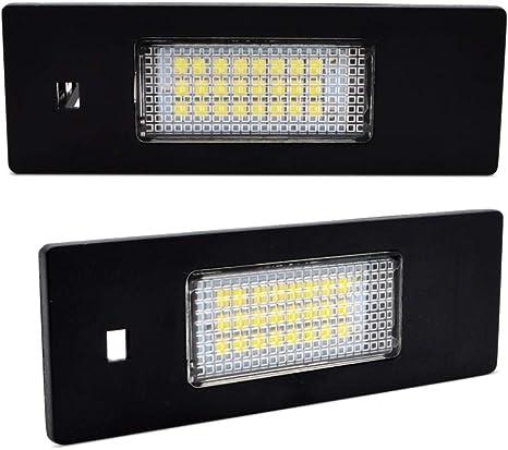 Kit /éclairage plaque dimmatriculation LED 12/V 3/W Blanc Canbus